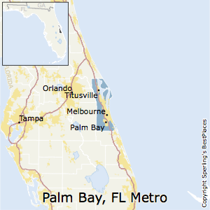 Map Of Palm Bay Florida.Best Places To Live In Palm Bay Melbourne Titusville Metro Area Florida