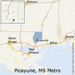 Picayune ms area code