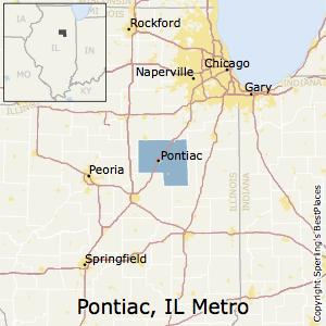 Best Places To Live In Pontiac Metro Area Illinois