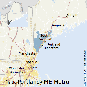 Best Places To Live In Portland South Portland Metro Area Maine