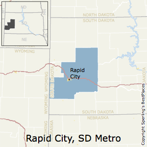 Rapid_City,South Dakota Metro Area Map