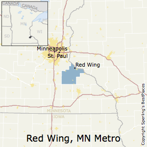 Red_Wing,Minnesota Metro Area Map