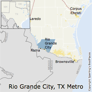 Rio_Grande_City,Texas Metro Area Map