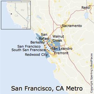 Hayward Ca Zip Code Map.Best Places To Live In San Francisco Oakland Hayward Metro Area
