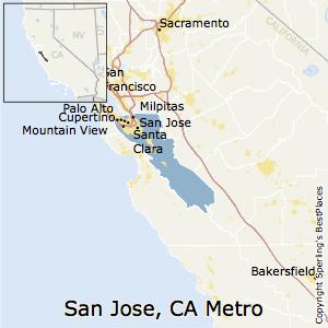Best Places to Live in San JoseSunnyvaleSanta Clara Metro Area