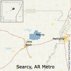 Best Places to Live in Searcy Metro Area, Arkansas