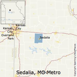 Sedalia Missouri Map.Best Places To Live In Sedalia Metro Area Missouri