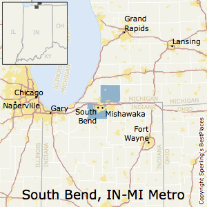 Mishawaka Zip Code Map.Best Places To Live In South Bend Mishawaka Metro Area Indiana