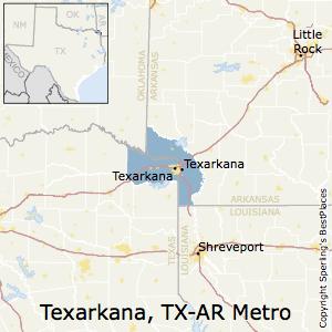Best places to live in texarkana metro area texas texarkanatexas metro area map publicscrutiny Choice Image