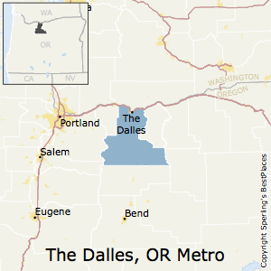 Best Places To Live In The Dalles Metro Area Oregon