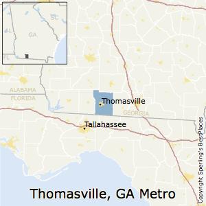 Thomasville Georgia Map.Best Places To Live In Thomasville Metro Area Georgia
