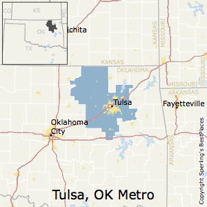 Best Places to Live in Tulsa Metro Area, Oklahoma