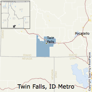 Twin_Falls,Idaho Metro Area Map