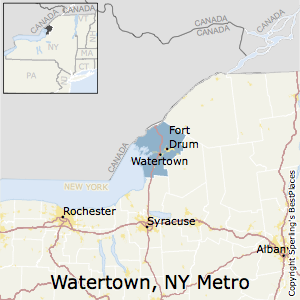 Best Places to Live in Watertown-Fort Drum Metro Area, New York