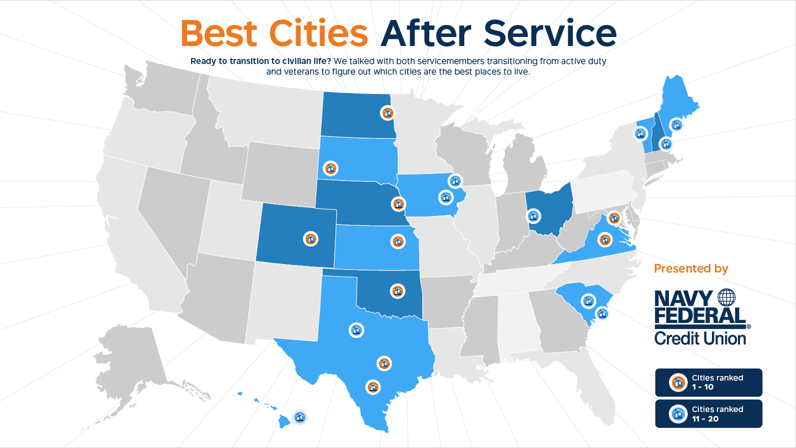 Navy Federal Releases Best Cities After Service on map of virginia, map of harrisonburg va, map of va visns, va state map with cities, map of winchester va, virginia cities, map nc with cities, map of va rivers, map of kentucky cities, west va map with cities,