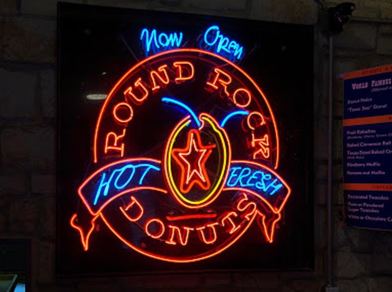 Round Rock Donuts in Round Rock, Texas