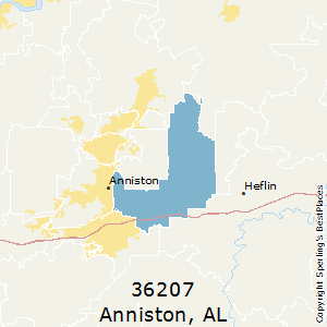 Best Places to Live in Anniston (zip 36207), Alabama