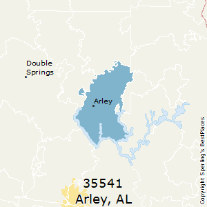 Arley,Alabama County Map