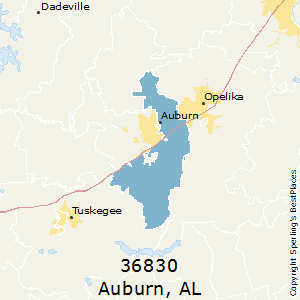 Opelika Zip Code Map.Best Places To Live In Auburn Zip 36830 Alabama