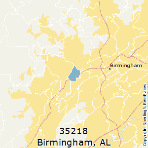 Birmingham,Alabama County Map