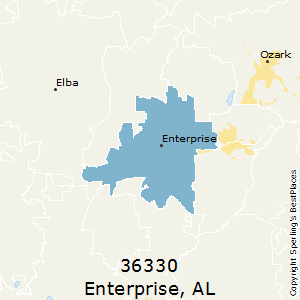 Enterprise,Alabama County Map