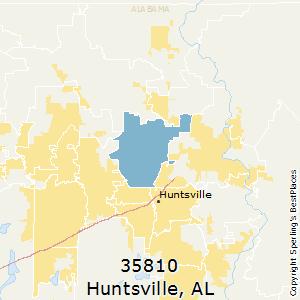 Best Places to Live in Huntsville (zip 35810), Alabama