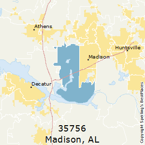 Madison Al Zip Code Map.Best Places To Live In Madison Zip 35756 Alabama