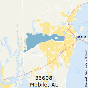 Best Places to Live in Mobile (zip 36608), Alabama