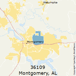 Best Places to Live in Montgomery (zip 36109), Alabama