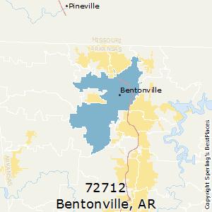 Best Places to Live in Bentonville (zip 72712), Arkansas