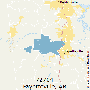 Fayetteville Arkansas Zip Code Map.Best Places To Live In Fayetteville Zip 72704 Arkansas