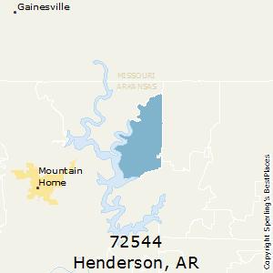 Mountain Home Ar Zip Code Map.Best Places To Live In Henderson Zip 72544 Arkansas