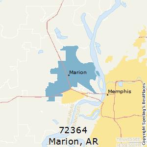 Zip Code Map Arkansas.Best Places To Live In Marion Zip 72364 Arkansas