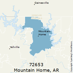 Best Places To Live In Mountain Home Zip 72653 Arkansas