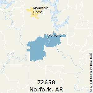 Mountain Home Ar Zip Code Map.Best Places To Live In Norfork Zip 72658 Arkansas