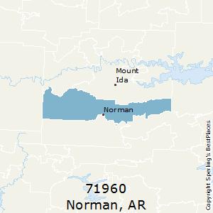 Norman Zip Code Map.Best Places To Live In Norman Zip 71960 Arkansas