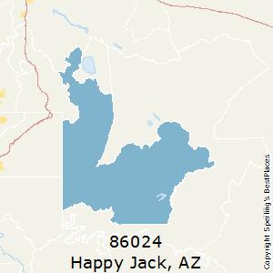 Happy Jack Arizona Map.Best Places To Live In Happy Jack Zip 86024 Arizona