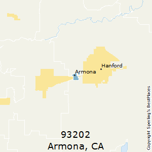 Hanford Ca Zip Code Map.Best Places To Live In Armona Zip 93202 California