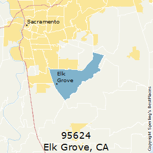 Elk_Grove,California County Map