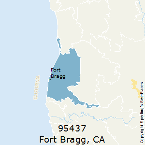 Fort_Bragg,California County Map