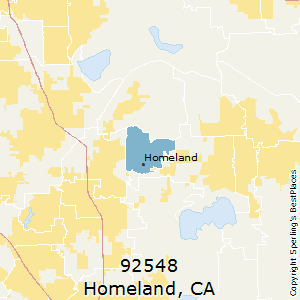 Homeland California Map.Best Places To Live In Homeland Zip 92548 California