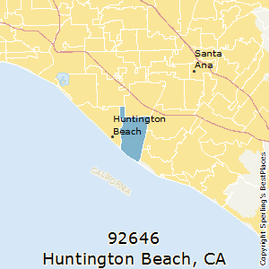 Huntington_Beach,California County Map
