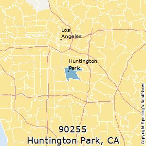 Huntington Park Zip Code Map.Best Places To Live In Huntington Park Zip 90255 California