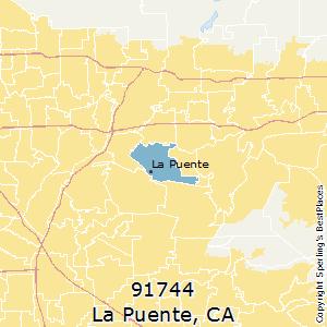 La Puente Zip Code Map.Best Places To Live In La Puente Zip 91744 California
