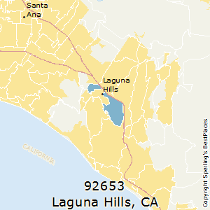 Laguna_Hills,California County Map