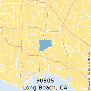 Long_Beach,California(90805) Zip Code Map