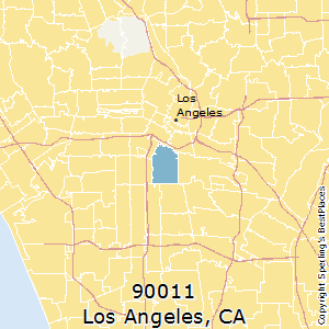 Los_Angeles,California County Map