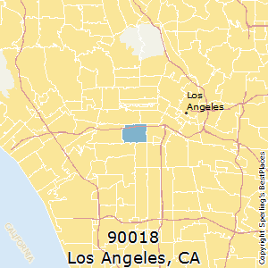 Best Places to Live in Los Angeles (zip 90018), California