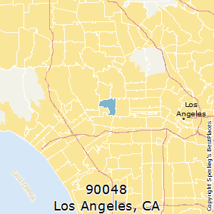 90005 Zip Code Map.Best Places To Live In Los Angeles Zip 90048 California