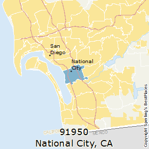 Best Places to Live in National City (zip 91950), California